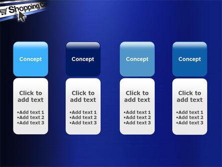 e-Shopping Cart PowerPoint Template Slide 5