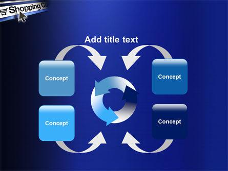 e-Shopping Cart PowerPoint Template Slide 6