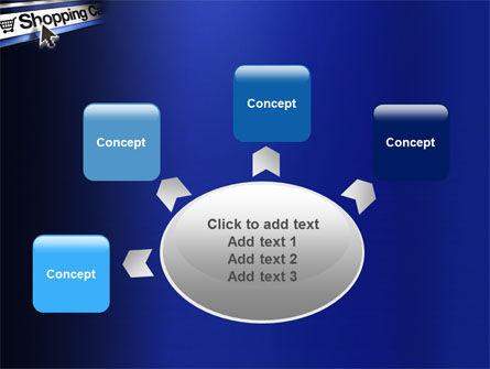 e-Shopping Cart PowerPoint Template Slide 7