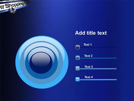 e-Shopping Cart PowerPoint Template Slide 9