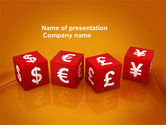 Financial/Accounting: World Currency PowerPoint Template #03881