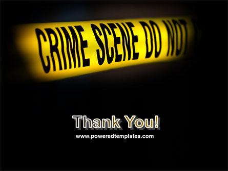 Crime Scene PowerPoint Template Slide 20