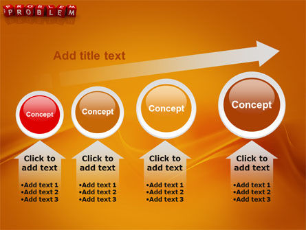Problem PowerPoint Template Slide 13