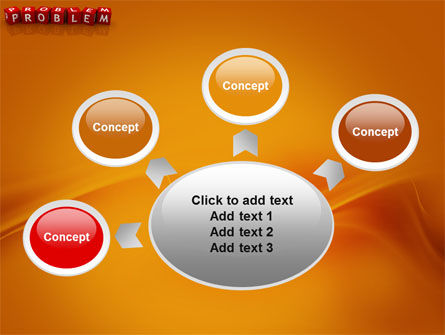 Problem PowerPoint Template Slide 7