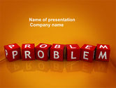 Education & Training: Problem PowerPoint Template #03887