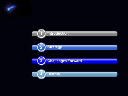 Fallen Star PowerPoint Template, Slide 3, 03889, Technology and Science — PoweredTemplate.com
