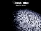 Fingerprint PowerPoint Template#20