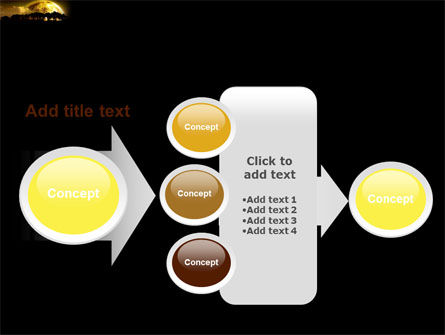 Yellow Moon PowerPoint Template Slide 17
