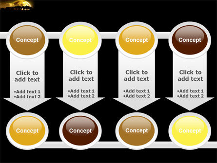 Yellow Moon PowerPoint Template Slide 18