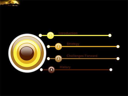 Yellow Moon PowerPoint Template, Slide 3, 03895, Nature & Environment — PoweredTemplate.com