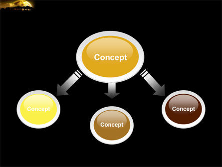 Yellow Moon PowerPoint Template Slide 4