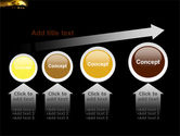 Yellow Moon PowerPoint Template#13