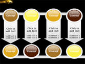 Yellow Moon PowerPoint Template#18