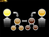 Yellow Moon PowerPoint Template#19