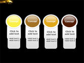 Yellow Moon PowerPoint Template#5