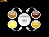 Yellow Moon PowerPoint Template#6