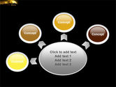 Yellow Moon PowerPoint Template#7