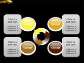 Yellow Moon PowerPoint Template#9