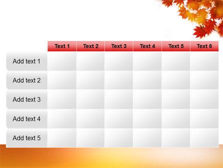 Autumn Season PowerPoint Template Slide 15