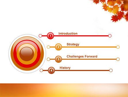 Autumn Season PowerPoint Template, Slide 3, 03898, Nature & Environment — PoweredTemplate.com