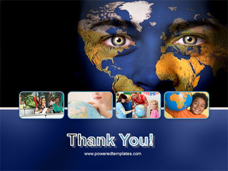 Childrens Of the World PowerPoint Template Slide 20