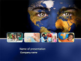 Education & Training: Childrens Of the World PowerPoint Template #03901