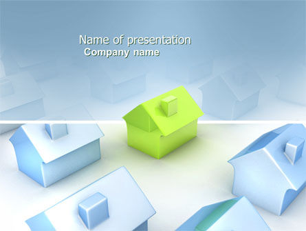 Living Area Zoning PowerPoint Template