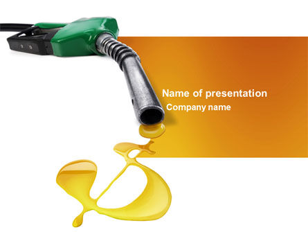 Fuel Prices PowerPoint Template, 03903, Financial/Accounting — PoweredTemplate.com