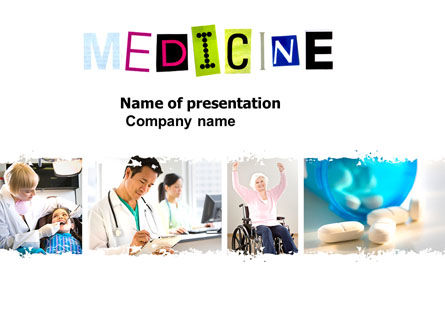 Medical: Modern Medicine PowerPoint Template #03904
