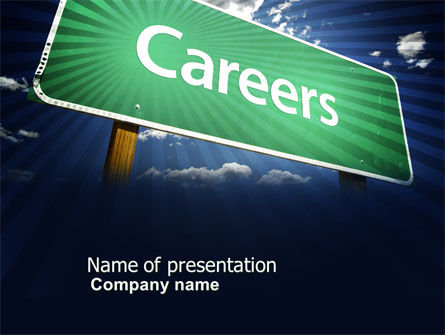 Careers PowerPoint Template