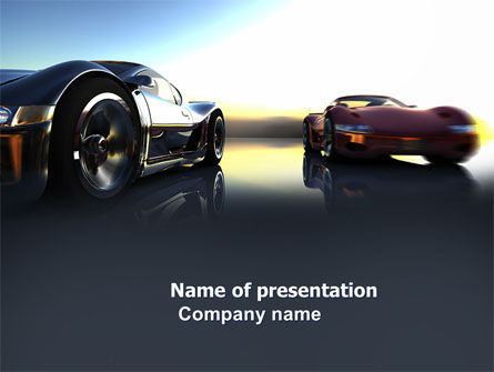Cars and Transportation: Modelo do PowerPoint - carros conceito #03909