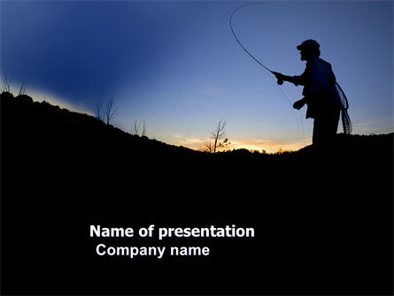 Trout Fishing PowerPoint Template