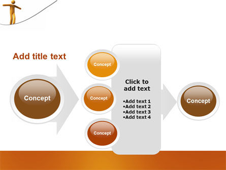 Ropewalker PowerPoint Template Slide 17