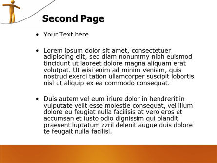 Ropewalker PowerPoint Template Slide 2