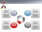 Ribbon PowerPoint Template#9