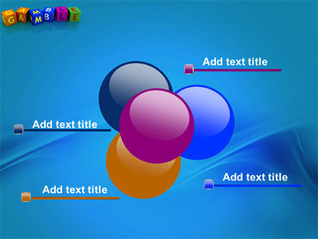 Gamble PowerPoint Template Slide 10