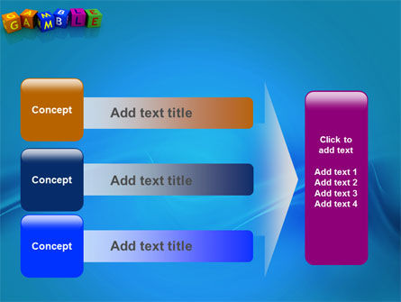 Gamble PowerPoint Template Slide 12