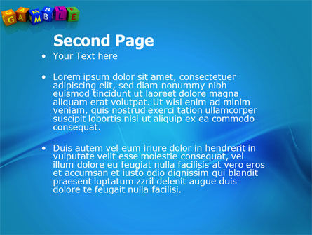 Gamble PowerPoint Template Slide 2