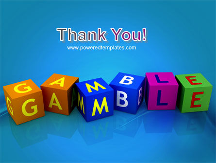Gamble PowerPoint Template Slide 20