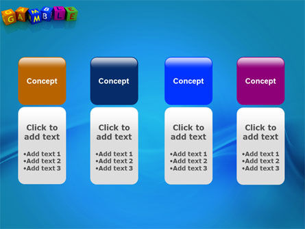 Gamble PowerPoint Template Slide 5