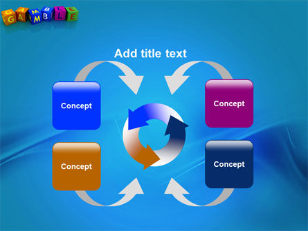 Gamble PowerPoint Template Slide 6