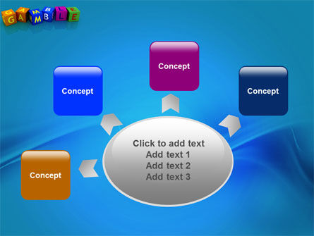 Gamble PowerPoint Template Slide 7