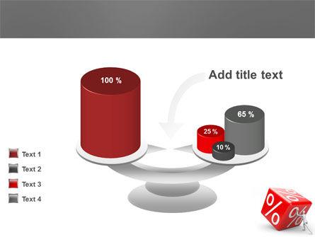 Rising Percent PowerPoint Template Slide 10