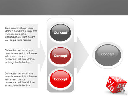 Rising Percent PowerPoint Template Slide 11