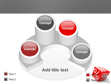 Rising Percent PowerPoint Template Slide 12