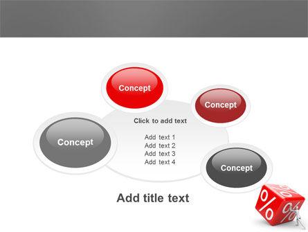 Rising Percent PowerPoint Template Slide 16