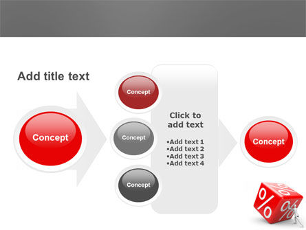 Rising Percent PowerPoint Template Slide 17
