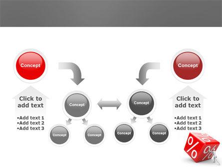 Rising Percent PowerPoint Template Slide 19