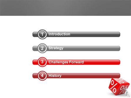 Rising Percent PowerPoint Template, Slide 3, 03922, Business Concepts — PoweredTemplate.com