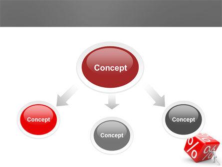 Rising Percent PowerPoint Template, Slide 4, 03922, Business Concepts — PoweredTemplate.com